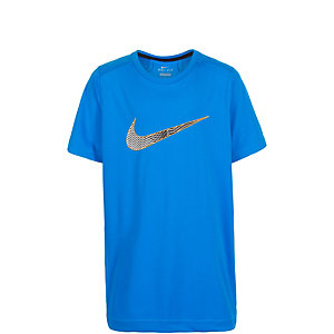 Nike Legacy Graphic Funktionsshirt Kinder blau / orange