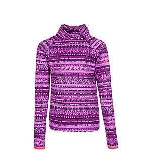 Nike Pro Hyperwarm Flash Mock Funktionsshirt Mädchen lila / violett