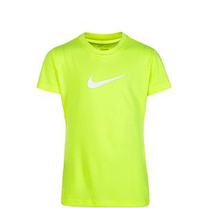 Nike Funktionsshirt Mädchen neongelb / weiß