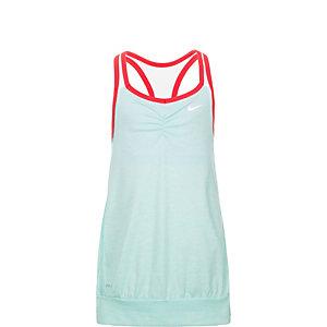 Nike Cool 2-in-1 Cami Funktionstank Mädchen türkis / pink