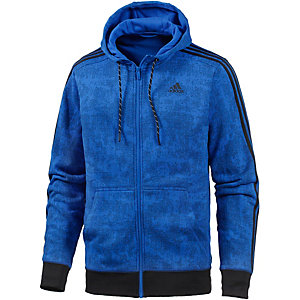 adidas Essential 3S Sweatjacke Herren blau