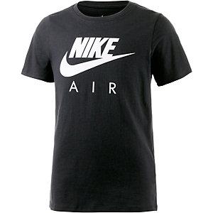 Nike Printshirt Jungen schwarz