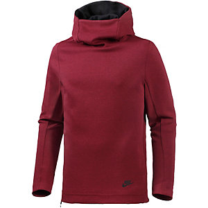 Nike Tech Fleece Fleecehoodie Herren rot