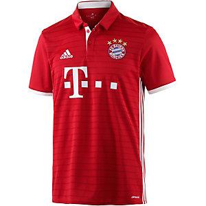 adidas FC Bayern München 16/17 Heim Fußballtrikot Herren rot