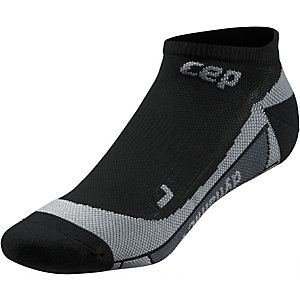 CEP No Show Socks Sportsocken Damen schwarz/grau