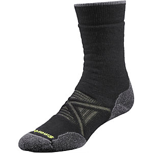 Smartwool Outdoor Medium Crew Wandersocken Herren schwarz