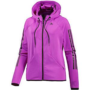 adidas Trainingsjacke Damen lila/schwarz
