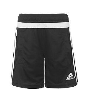 adidas Tiro 15 Fußballshorts Kinder schwarz / weiß