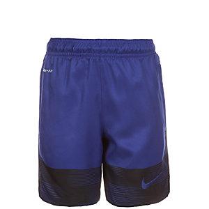 Nike Strike GPX Printed Woven II Fußballshorts Kinder blau / schwarz