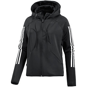 adidas Trainingsjacke Damen schwarz/weiß