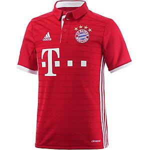 adidas FC Bayern München 16/17 Heim Fußballtrikot Kinder rot