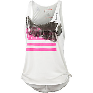 Reebok Tanktop Damen offwhite/pink