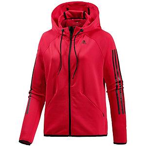 adidas Trainingsjacke Damen rot/schwarz