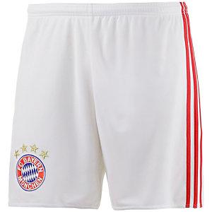 adidas FC Bayern München 16/17 Heim Fußballshorts Herren weiß
