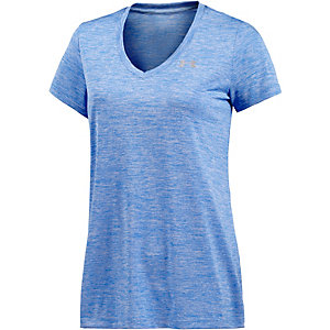 Under Armour TECH Funktionsshirt Damen blau/melange