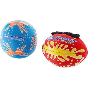 Donic-Schildkröt 2 Neopren Mini-Ball Ballpaket bunt