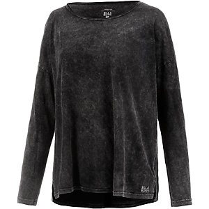 Billabong Essential Langarmshirt Damen schwarz
