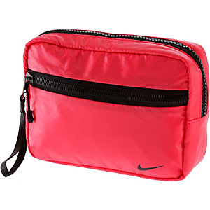 Nike Kulturbeutel Damen rot/schwarz