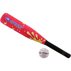 Donic-Schildkröt Neopren Baseball Set Baseballschläger rot/gelb