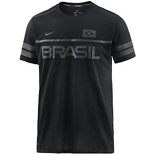 Nike Dri-Fit Energy Brazil Funktionsshirt Herren schwarz