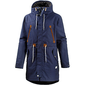 Colour Wear Urban Parka Herren blau
