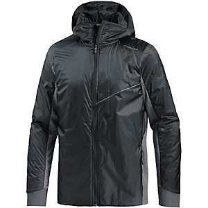 Brooks LSD Thermal Funktionsjacke Herren schwarz/grau