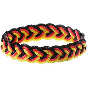 ID Merchandising Armband schwarz/rot/goldfarben