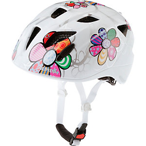 ALPINA Ximo Flash Fahrradhelm Kinder weiß Blume