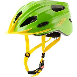 Uvex Quatro Fahrradhelm Kinder green yellow