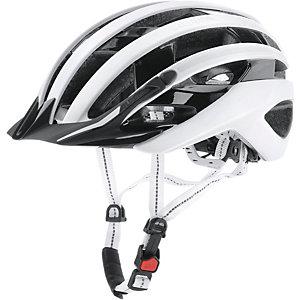 ALPINA E-Helm Deluxe Fahrradhelm weiß/schwarz