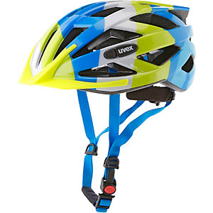 Uvex Helm Air Wing Fahrradhelm Kinder blau/grün