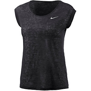 Nike Dri-Fit Cool Breeze Laufshirt Damen schwarz