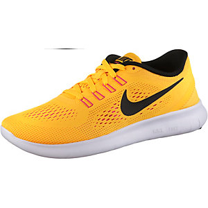 Nike Free Run Laufschuhe Damen orange