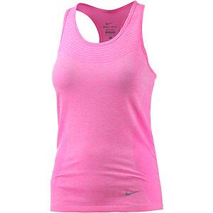 Nike Dri-Fit Knit Tanktop Damen pink