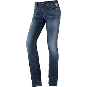 REPLAY Luz Skinny Fit Jeans Damen dark denim