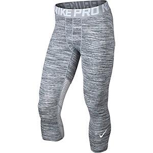 Nike Pro Hypercool Tights Herren weiß/grau