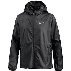 Nike Shield Laufjacke Herren schwarz