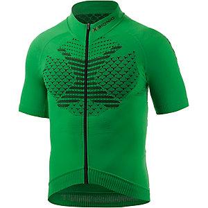X-Bionic Twyce Biking Shirt Fahrradtrikot Herren grün/schwarz