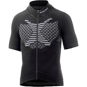 X-Bionic Race Evo Fahrradtrikot Herren schwarz/weiß
