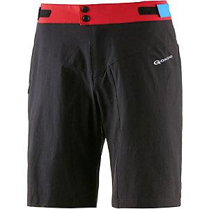 Gonso Johann Bike Shorts Herren schwarz rot