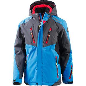 KILLTEC Skijacke Mädchen blau/rot