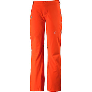 spyder temerity skihose damen orange im online shop von. Black Bedroom Furniture Sets. Home Design Ideas
