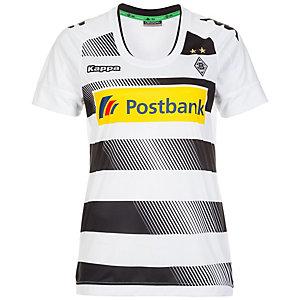 KAPPA Borussia Mönchengladbach 16/17 Heim Fußballtrikot Damen weiß / schwarz
