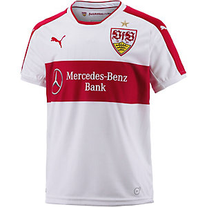 PUMA VfB Stuttgart 16/17 Heim Fußballtrikot Kinder weiß/rot
