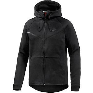 Nike Tech Fleece Kapuzenjacke Herren schwarz