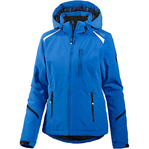 White Season Skijacke Damen blau/weiß