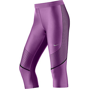Nike Power Speed Lauftights Damen lila