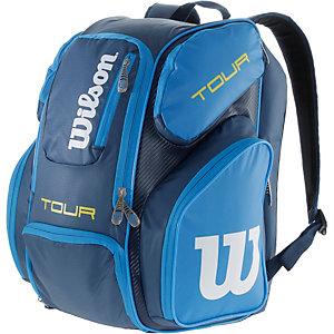 Wilson Tour V Tennisrucksack blau