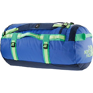 The North Face Base Camp Duffel Reisetasche blau/weiß
