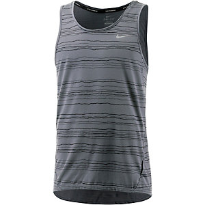 Nike Dri-Fit Cool Tailwind Tanktop Herren grau